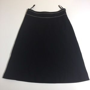 Banana Republic wool a-line midi skirt